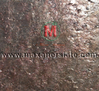 Polished copper slate tiles, honed copper slate tiles, broken copper slate, natural copper slate tiles, flamed copper slate tiles, copper slate velvet slabs, copper slate mosaic tiles supplier from India.
