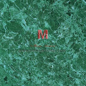 Emerald Green Marble tiles and slabs in all surface finishes like polished, honed, flamed, brushed (velvet finished) supplier from India.