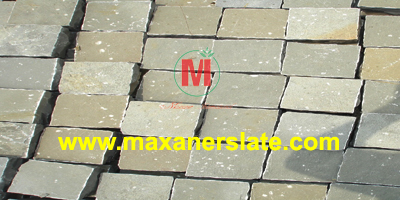Sandstone cobbles supplier from India.
