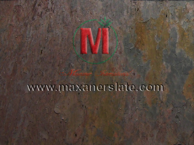 Polished slate tiles, honed Peacock Multy slate tiles, broken Peacock Multy slate, natural Peacock Multy slate tiles, flamed Peacock Multy slate tiles, Peacock Multy slate mosaic tiles supplier from India.