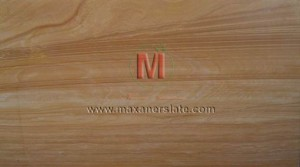 Teak sandstone tiles and slabs in all finishes like polished, honed, flamed, brushed (velvet finished) supplier from India.