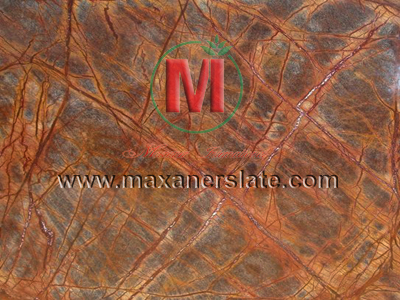 Polished rainforest brown marble tiles, honed rainforest brown marble tiles, broken rainforest brown marble, natural rainforest brown marble tiles, flamed rainforest brown marble tiles, rainforest brown marble velvet slabs, rainforest brown marble mosaic tiles supplier from India.