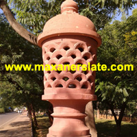 Sandstone lamp post | Machine cut sandstone tiles | Paving sandstone tiles | Red sandstone lintels | Mint sandstone riser | Yellow sandstone net | Raj green sandstone fountain supplier from India.