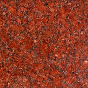 Ruby Red Granite tiles, slabs, flamed granite cobbles, counter tops, vanity tops, sink, kitchen tops manufacturer from India.