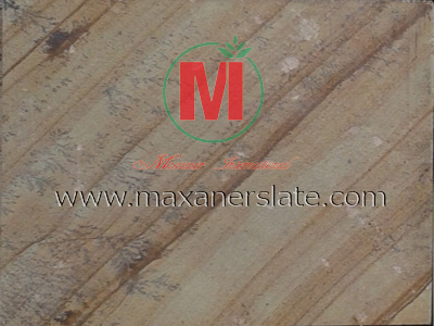 Desert mint dhari sandstone paving tiles natural cleft